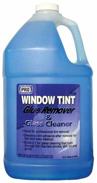 c 64 window tint glue remover glass cleaner. Black Bedroom Furniture Sets. Home Design Ideas